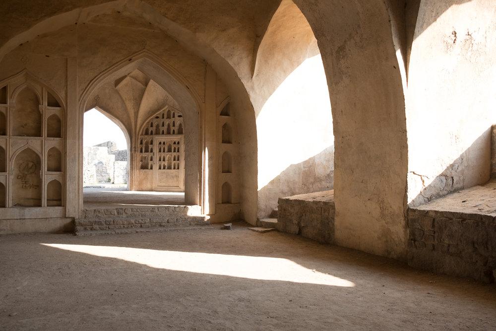 Golkonda  - Hyderabad, India.