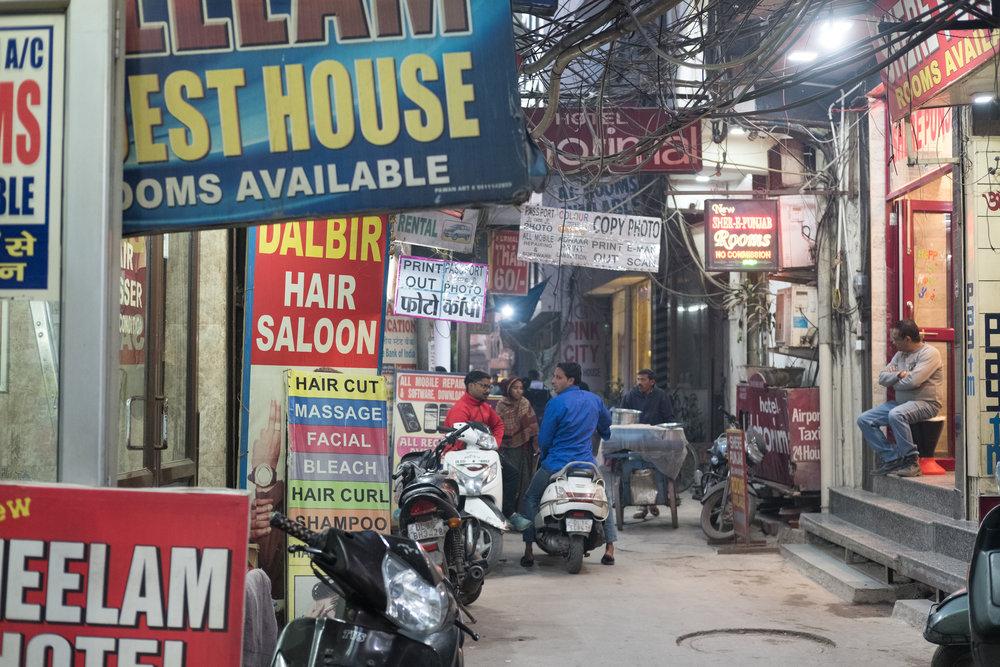 Paharganj  - Hyderabad, India.
