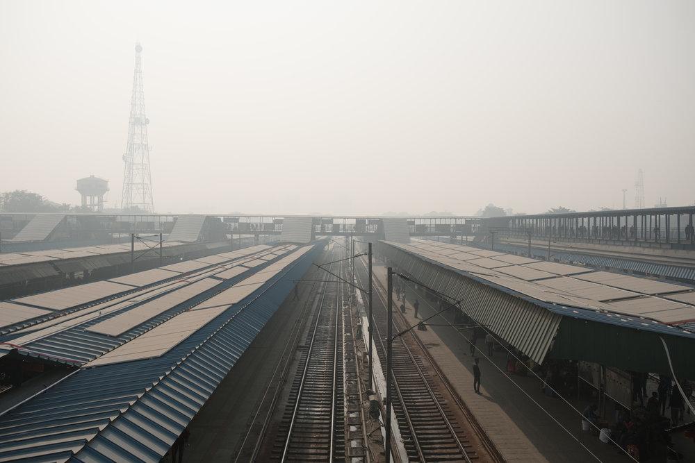 Gare centrale  - Delhi, India.