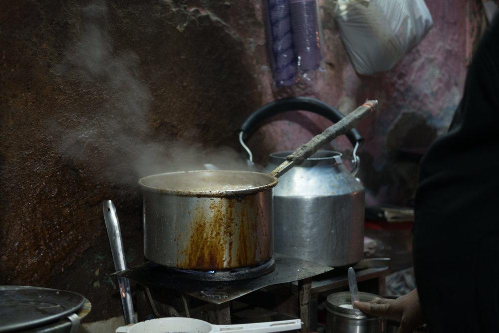 Chai  - Delhi, India.