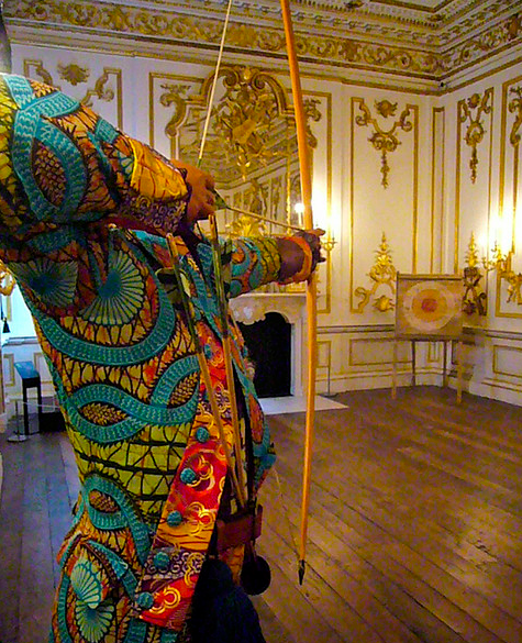 Sir Foster Cunliffe Playing by Yinka Shonibare MBE, 2007