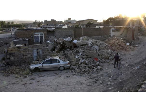 earthquake in iran today: