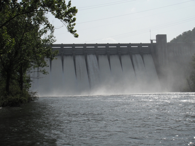 Norfork Dam Graph