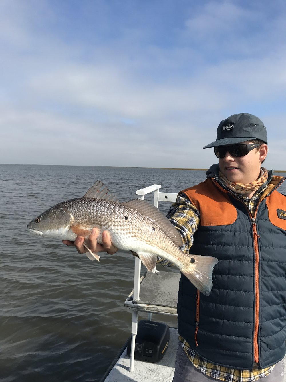 Standard issue skinny water redfish.
