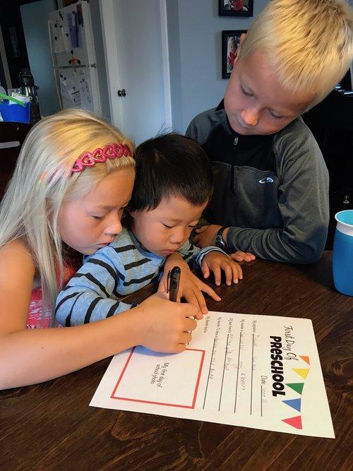 Joshua takes on preschool kristi van dyk img6031geg spiritdancerdesigns Image collections