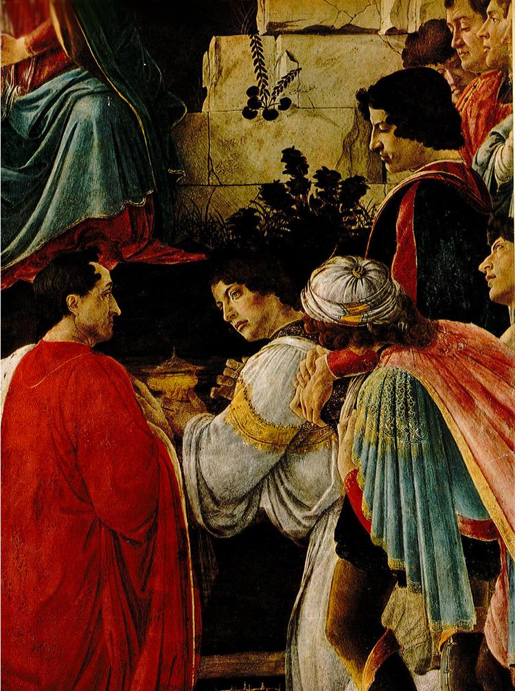 Sandro Botticelli,  The Adoration of the Kings , 1475