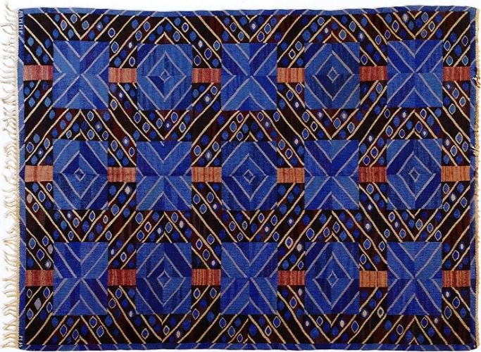 Mariane Richter,Stralarna Flatweave Carpet, 1949