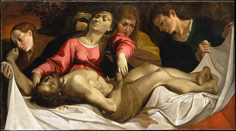 The Lamentation, by Ludovico Carracci