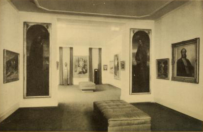 Gallery space in 1937