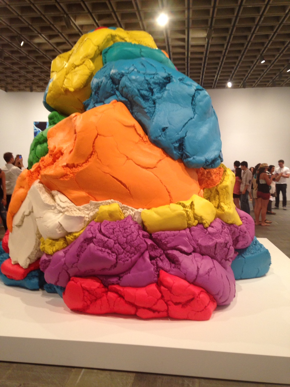 Gallery during the Whitney's Jeff Koon, October 2015