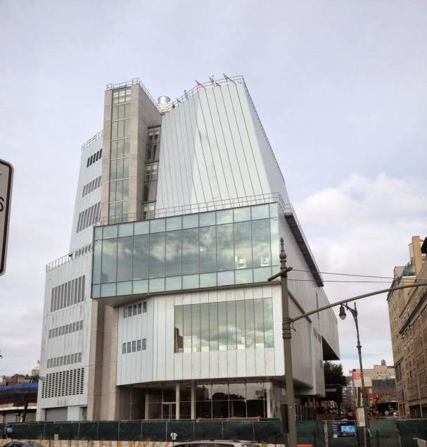 The Whitney's new building by Renzo Piano