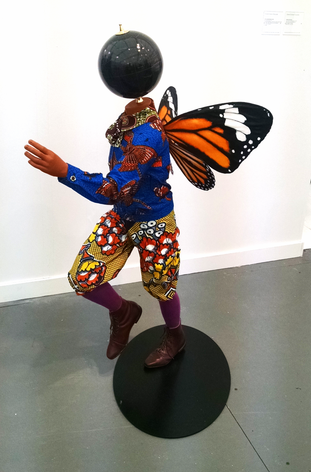 Frieze new york Yinka Shonibare Butterfly Kind, 2015 James Cohen, New York