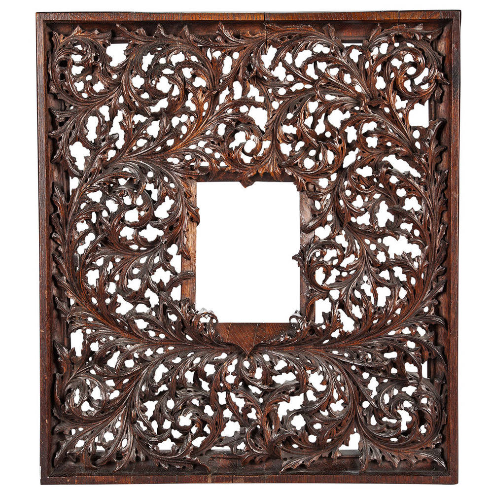 17th Century Carved Wooden Frame