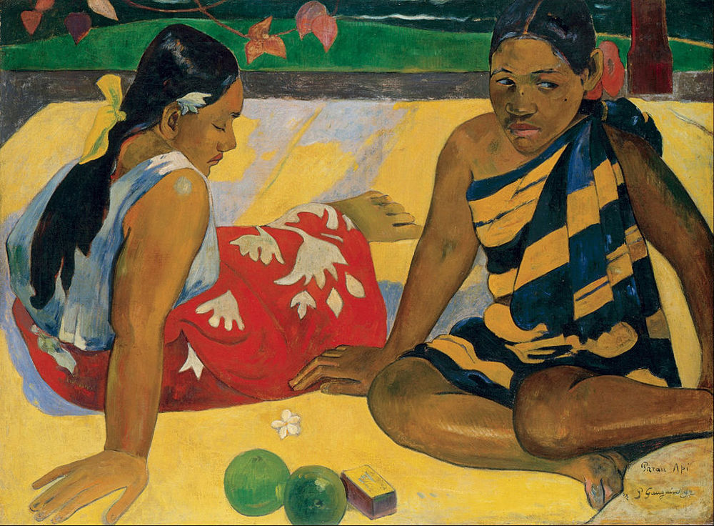 Paul Gauguin, Parau Api. What News