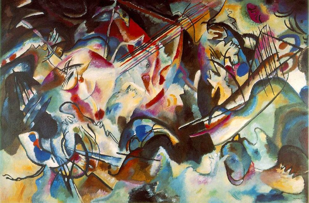 Wassily Kandinsky, Composition 6, 1913