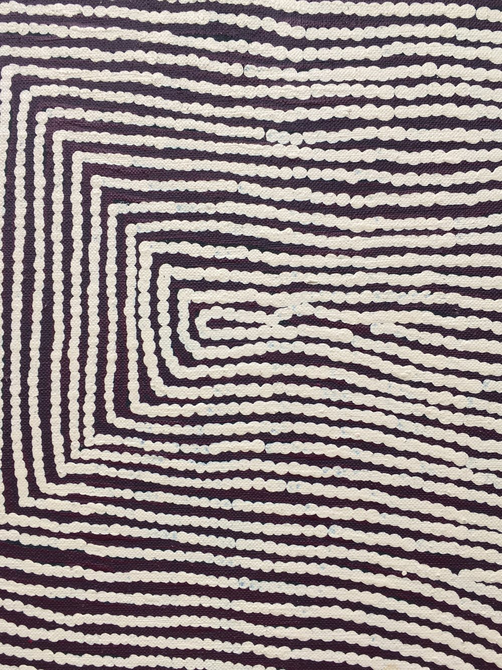 Warlimpirrnga Tjapaltjarri, Untitled, 2015, Acrylic on linen, 244 x 183 cm, Salon 94
