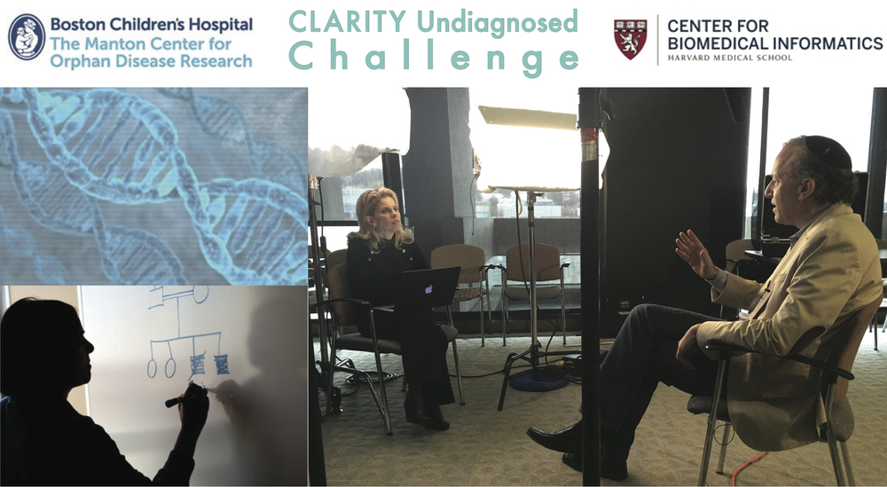 Visit the CLARITY Undiagnosed Challenge website to learn more