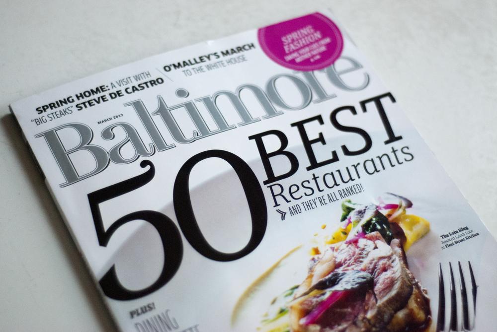 Becca Cahan Baltimore Magazine