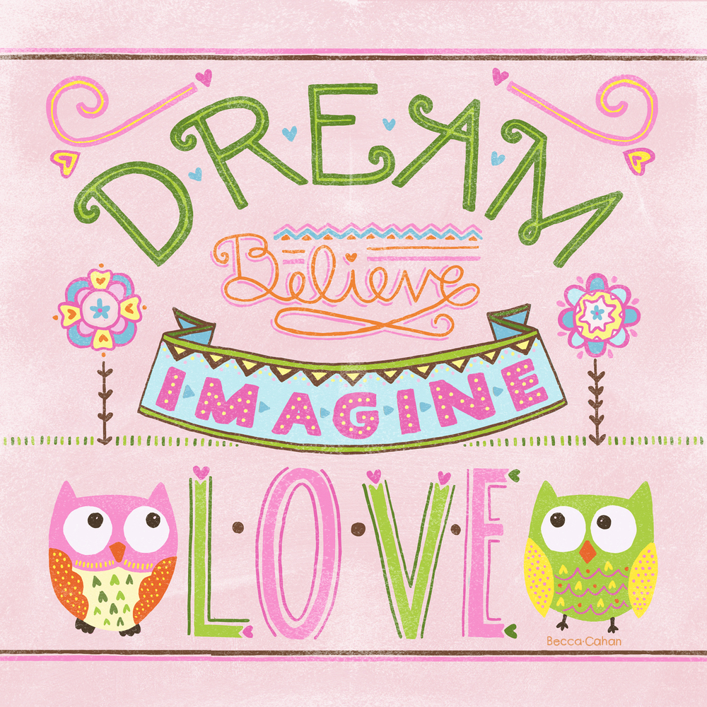 Cahan Dream Believe Imagine Love Target Print.jpg