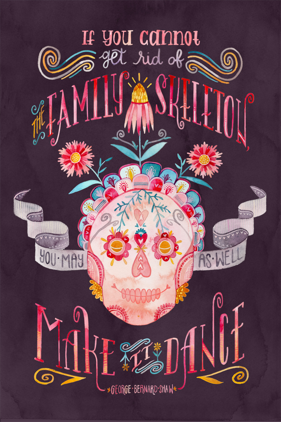 """Family Skeleton"" by Becca Cahan"