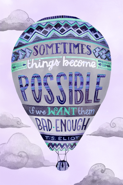 """Possibility"" by becca cahan"