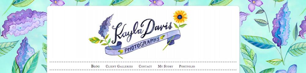 Kayla Davis Photography Branding by Becca Cahan