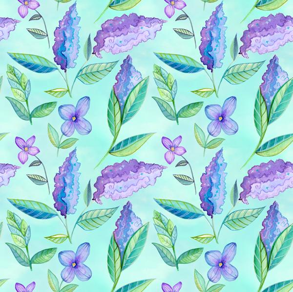 Kayla Davis Photography Branding Pattern by becca cahan
