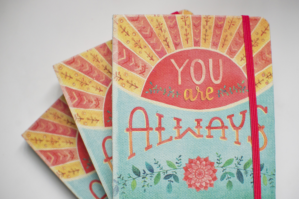 """You Are Always Enough"" Studio Oh! Journal by Becca Cahan"