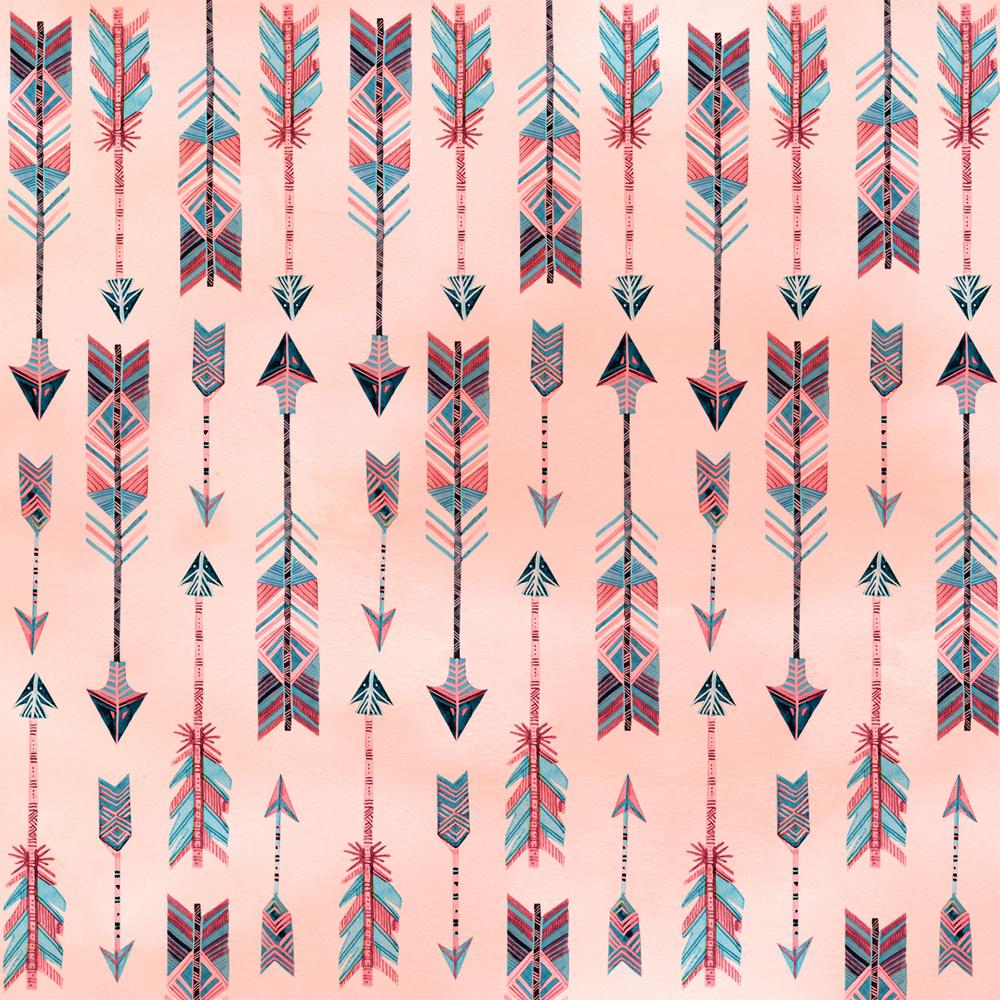"""Arrowhead"" pattern by becca cahan"