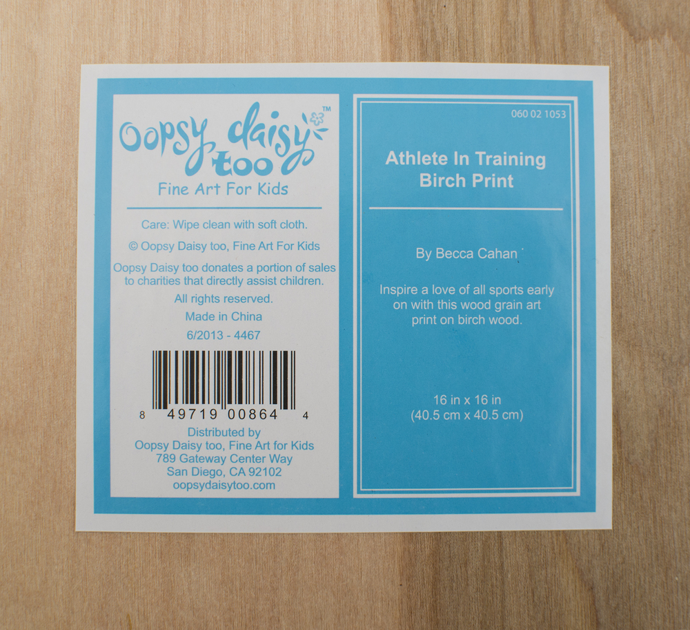 Birch Sport's Print Set by Becca Cahan with Oopsy Daisy for Target