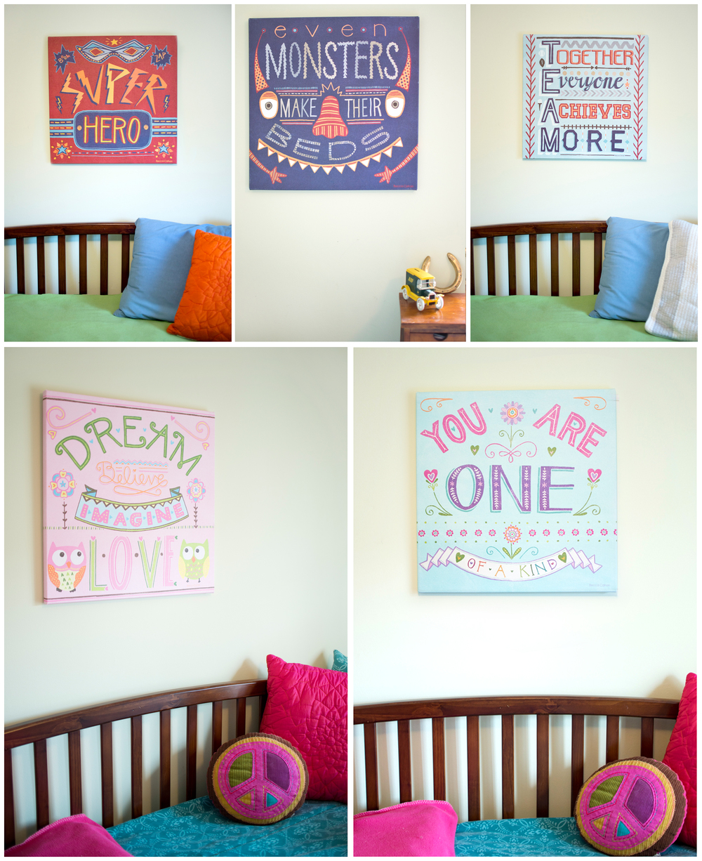 Canvas Wall Art by Becca Cahan with Oopsy Daisy for Target