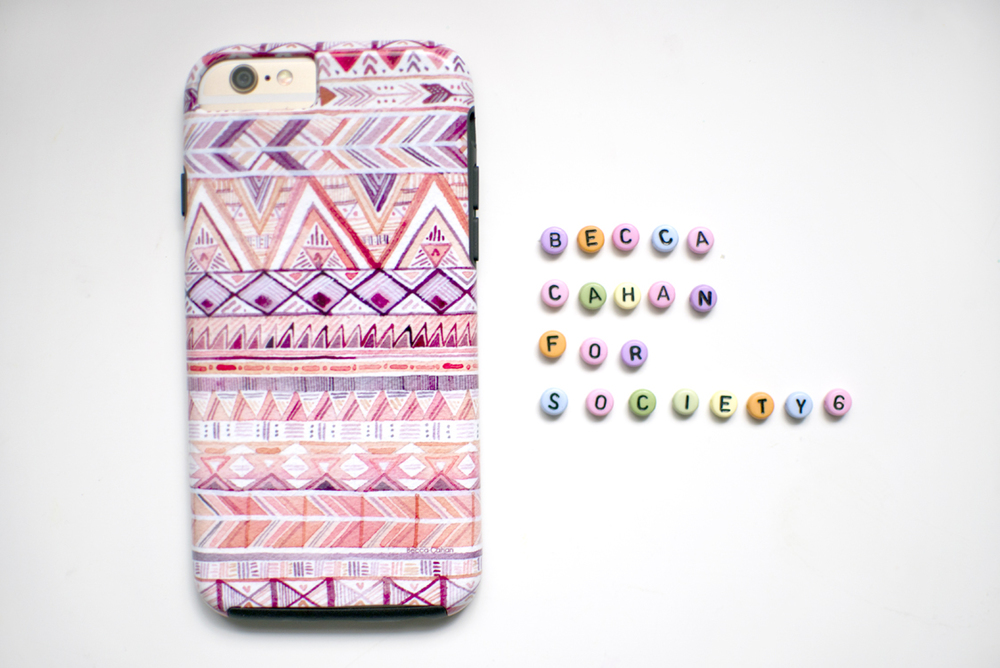 Becca Cahan Phone Case for Society6