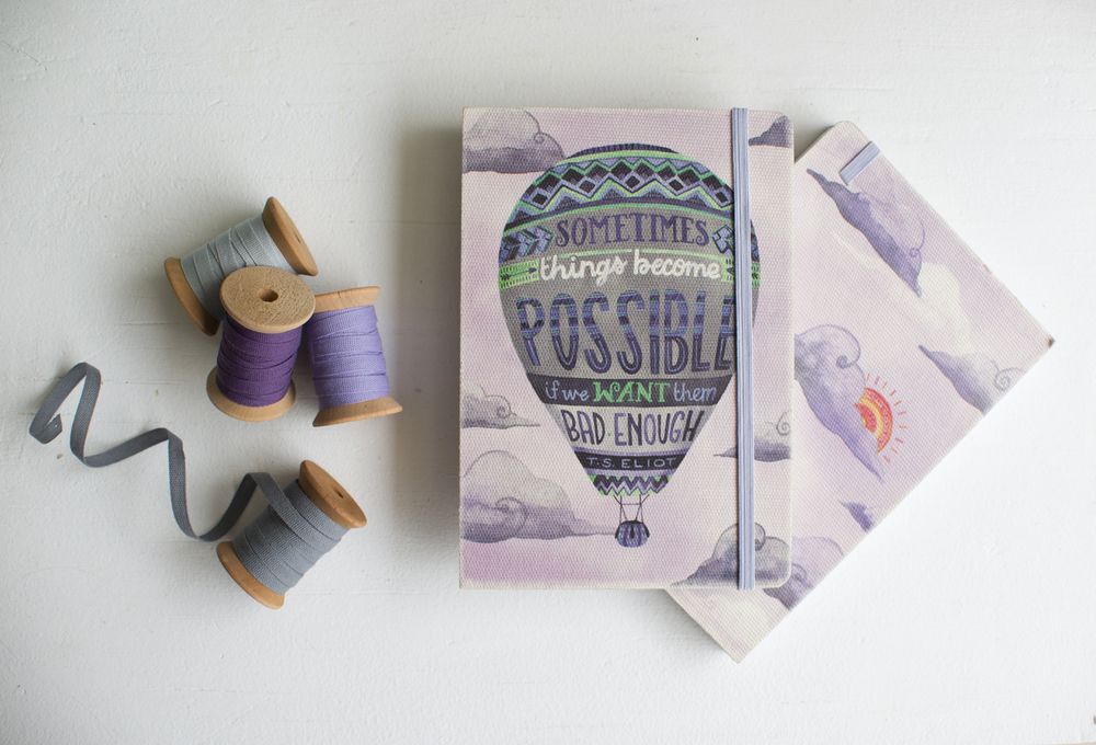 "Becca Cahan for Studio Oh! // ""Things Become Possible"" Deconstructed 2015-2016 Planner"
