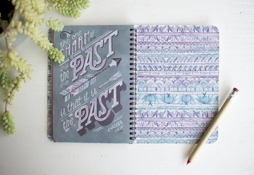 "Becca Cahan for Studio Oh! // ""Direction of Your Dreams"" On-Time Weekly Planner 2015-2016 Planner"