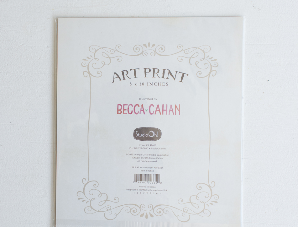 Studio Oh! art prints by Becca Cahan