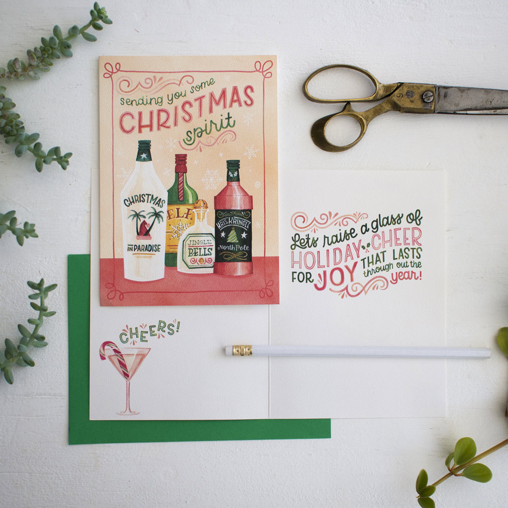 Becca Cahan for Trader Joes x Design House Greetings