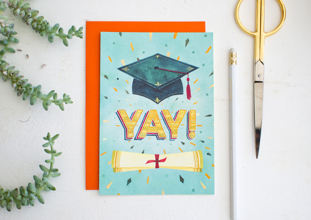 RSVP Sellers Publishing Greeting Card // Art by Becca Cahan
