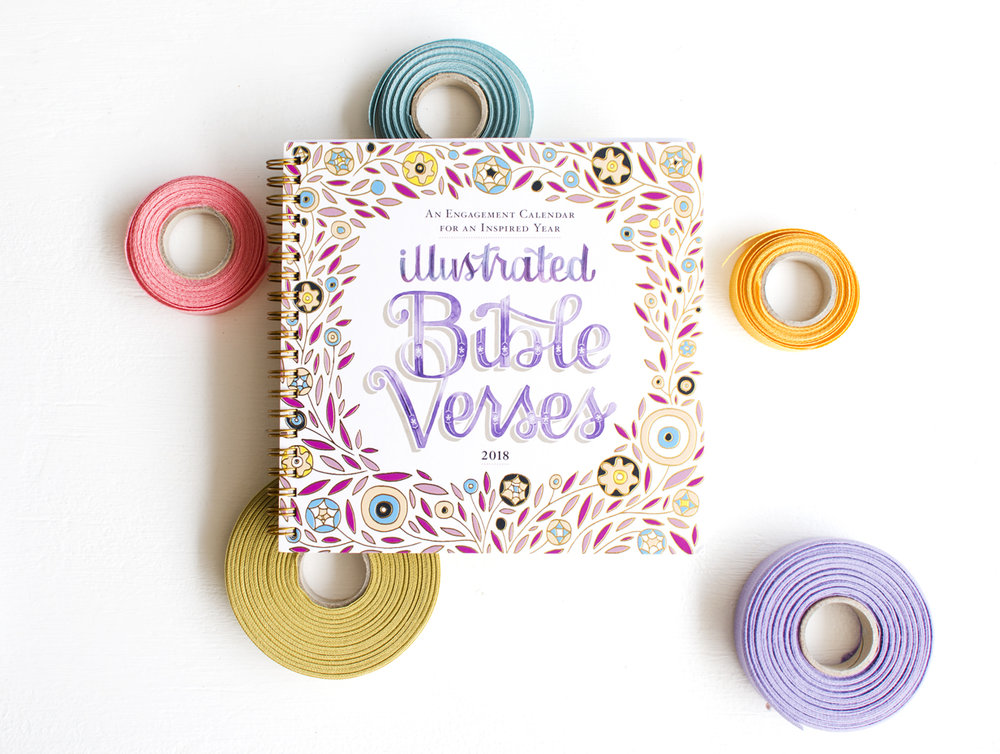 Becca Cahan Illustration X Workman Publishing Bible Verses Planner