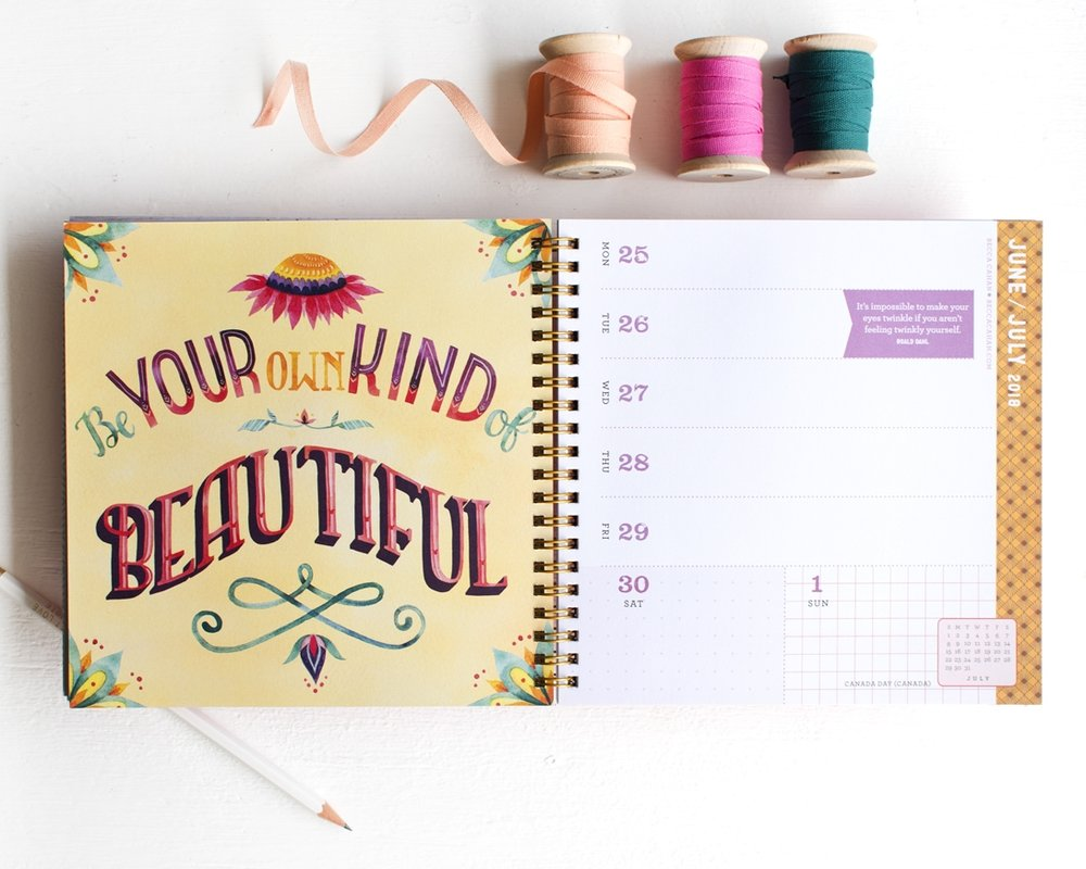 Becca Cahan Illustration X Workman Publishing Great Day Planner