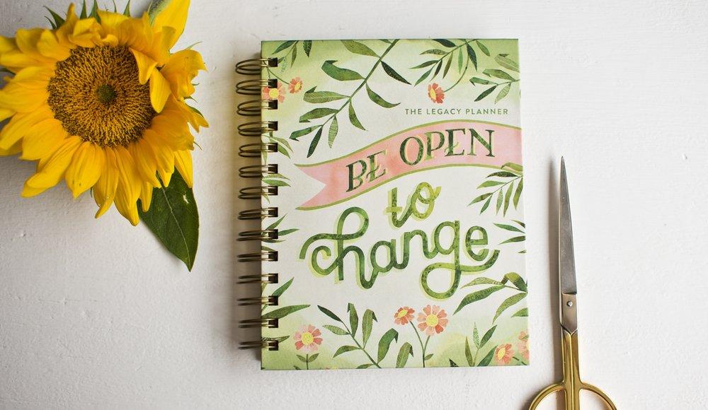 Becca Cahan X Legacy Publishing 2017-2018 Planner