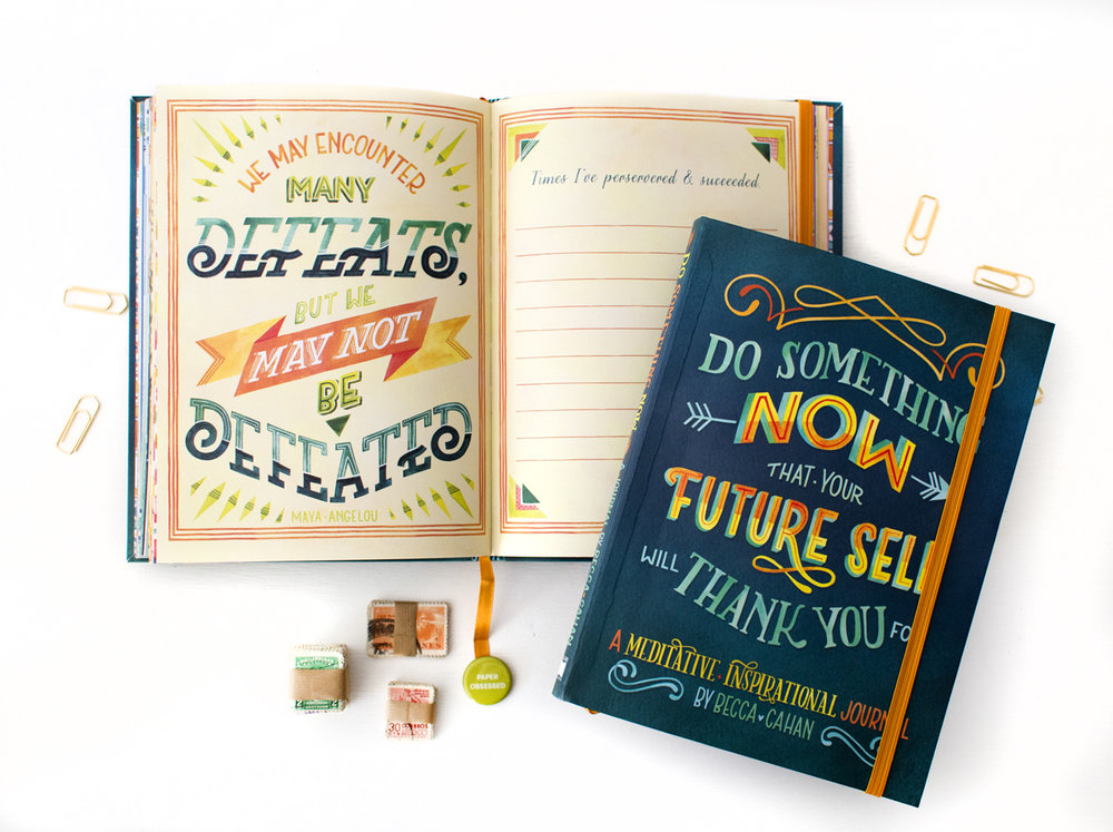 """Do Something Now"" Sellers Publishing Guided Journal by Becca Cahan"
