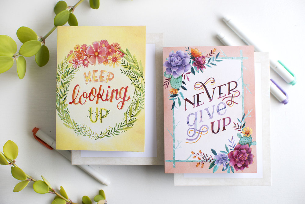 Legacy Publishing Encouragement Cards Spring 2018 — Becca Cahan