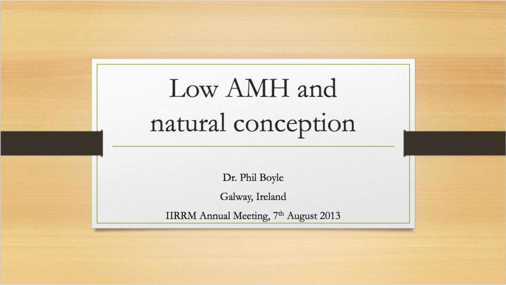 AMH Boyle presentation - Phil Boyle