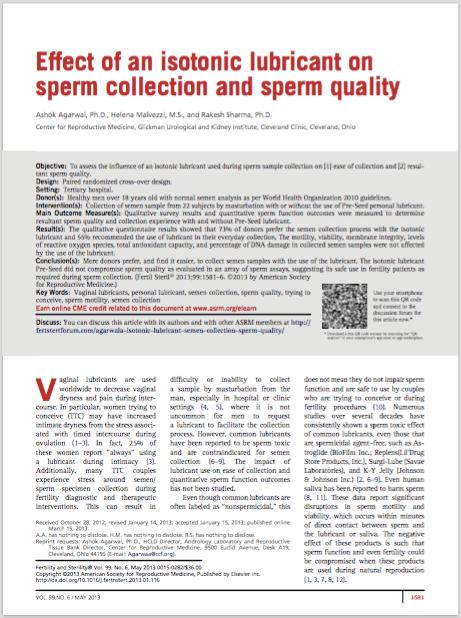 Fertil Steril. 2013 May;99(6):1581-6. - Agarwal A, Malvezzi H, Sharma R.