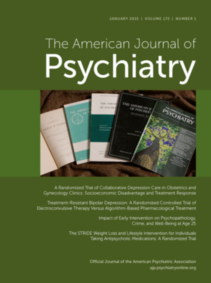 The American Journal of Psychiatry, Ahead of Print, appi.ajp.2017.17060616Published online: November 17, 2017 - Charlotte Wessel Skovlund, Ph.D., Lina Steinrud Mørch, Ph.D., Lars Vedel Kessing, D.M.Sc., Theis Lange, Ph.D., Øjvind Lidegaard, D.M.Sc.