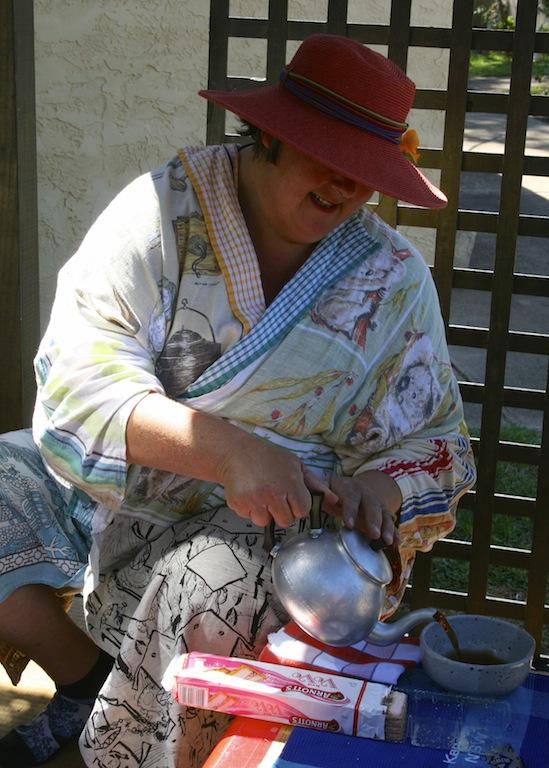 Sarah Goffman 'Wabi-Sabi tea' in Kandos