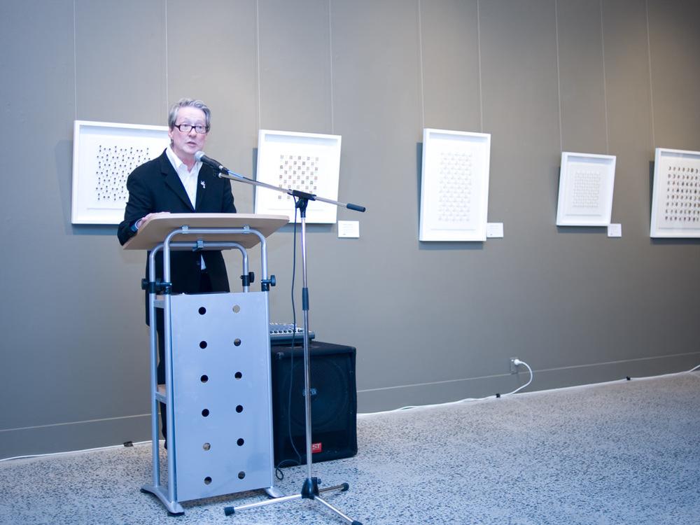 Gallery Director Richard Perram