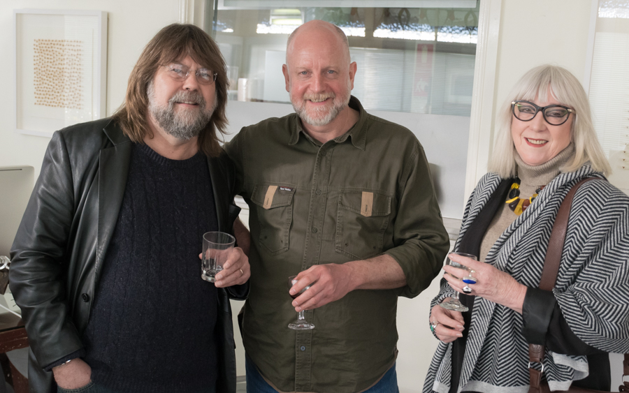 James Willebrant ,  Graham Hallett  and Ida Halliday