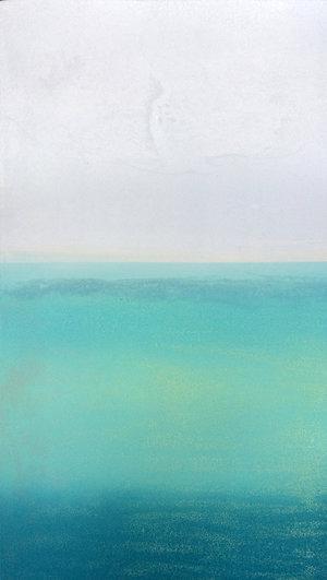 Seabreeze II, Carborundum, 48 x 27cm