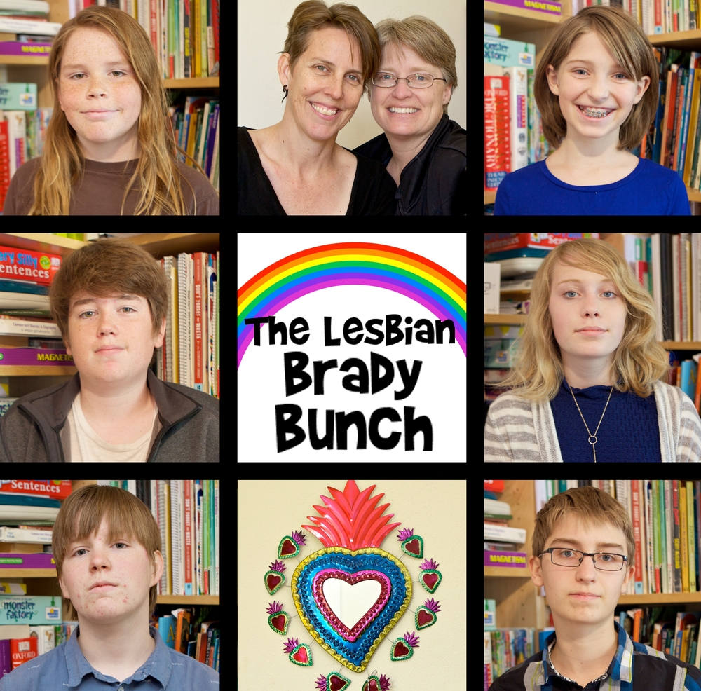 lesbian-brady-bunch